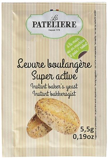 La Pateliere Levure Boulangère Super Active 5 Sachets 28 G Lot De