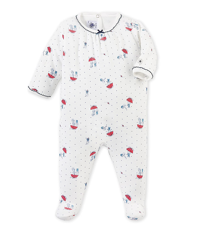 Petit Bateau Davida, Pijama De Una Pieza para Bebés, Lait/Multico 70, NAI: Amazon.es: Ropa y accesorios