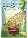 Organic Buckwheat Groats, 10 Pounds - Hulled, Non-GMO, Kosher, Raw, Vegan, Bulk