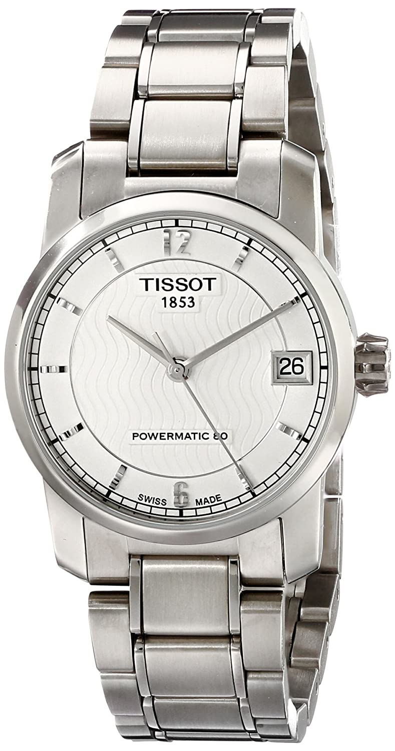 Tissot Women s T0872074403700 T-Classic Analog Display Swiss Automatic Silver Watch