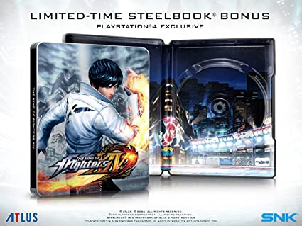 Amazon Com The King Of Fighters Xiv Steelbook Launch Edition