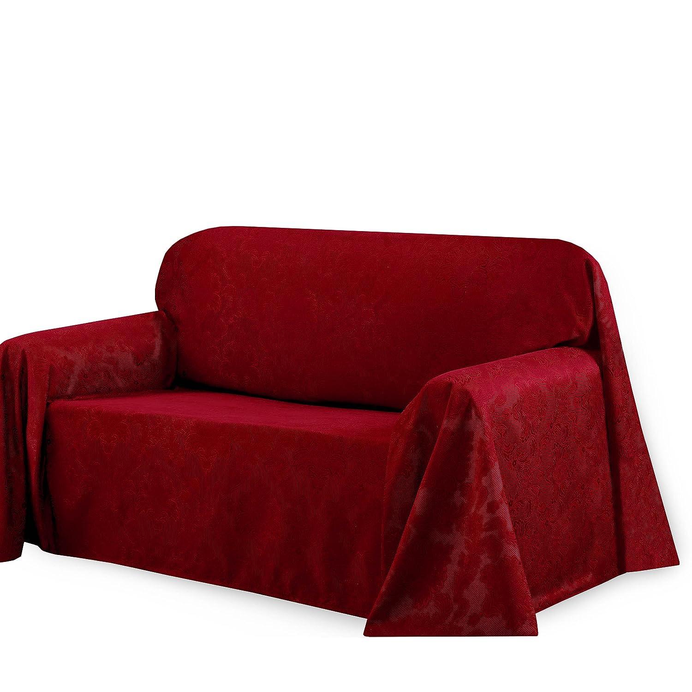 Amazon CHI Medallion Solid Jacquard Sofa Slip Cover 70 by