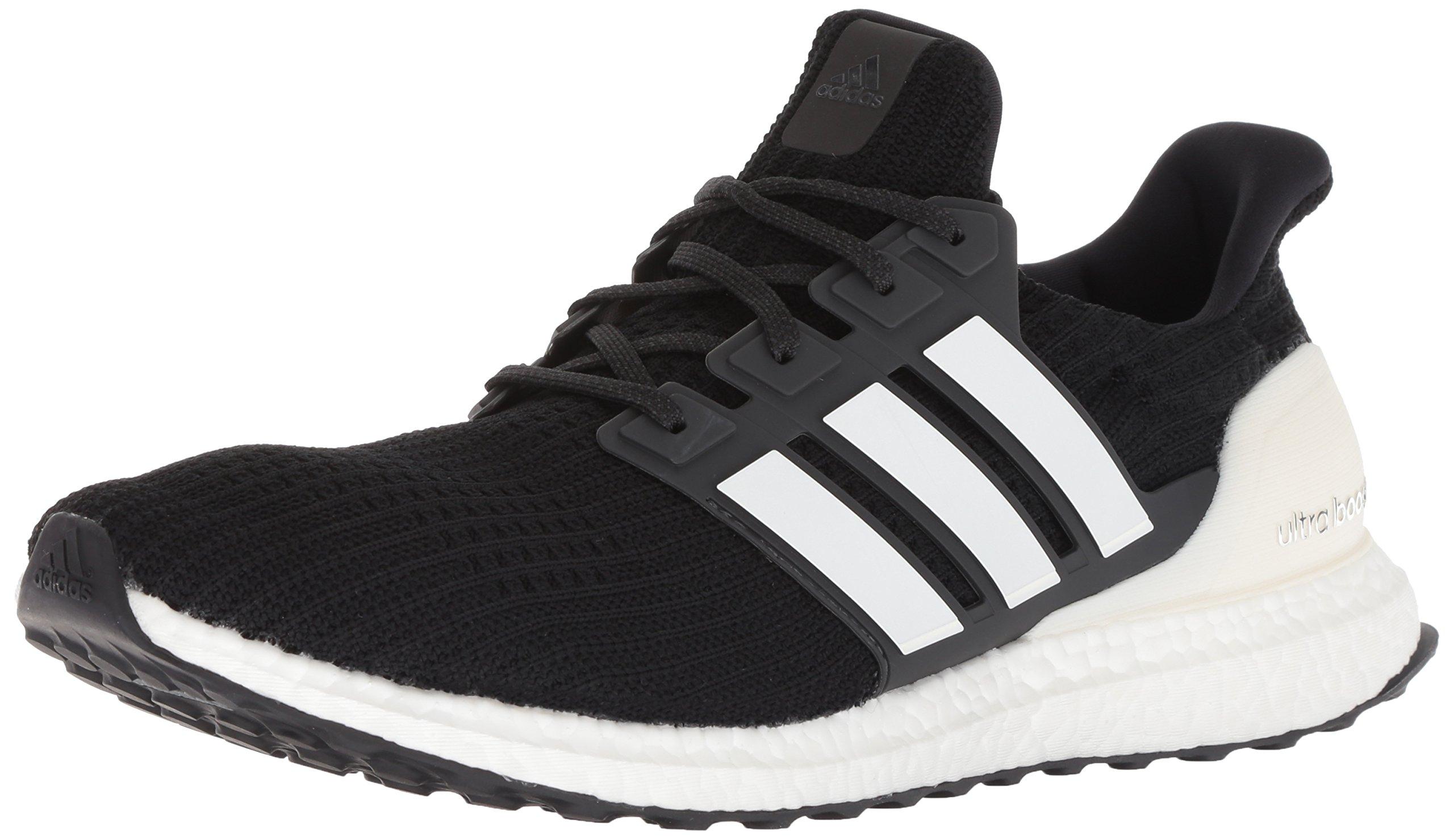 adidas Men's Ultraboost Running Shoe, Black/Cloud White/Carbon, 10 M US