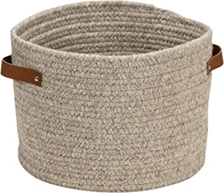 "product image for Colonial Mills Monaco Basket, 16""x16""x12"", Grey"