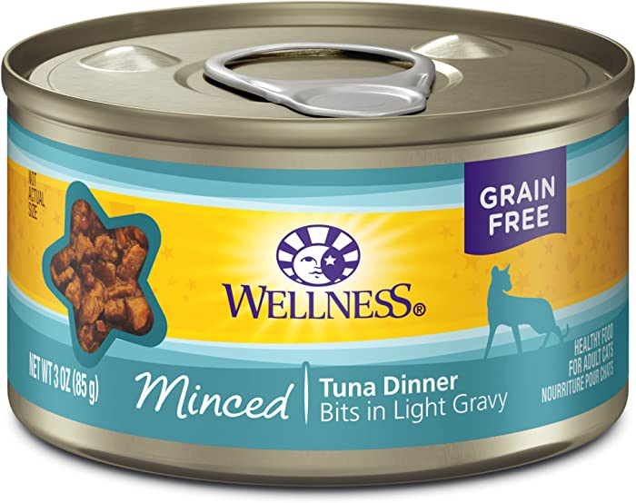 Wellness Complete Health Minced Grain Free Canned Wet Cat Food (Pack of 24)