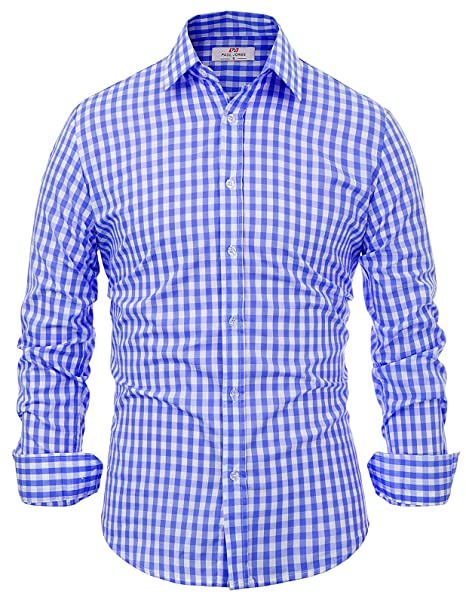 Herren Trachten Hemd Oktoberfest Hemd slim fit Rot  Karo Baumwolle neu Gr S-3XL