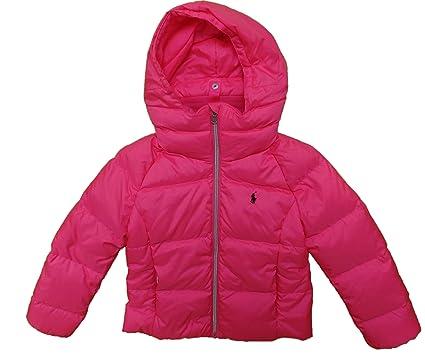 cd52bd0b Amazon.com: Polo Ralph Lauren Girls Down Puffer Winter ...