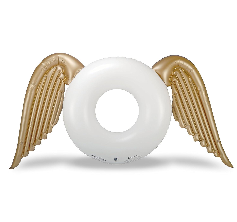 Mimosa Inc Tubo de alas de ángel - PREMIUM CALIDAD gigante hinchable piscina flotador: Amazon.es: Deportes y aire libre