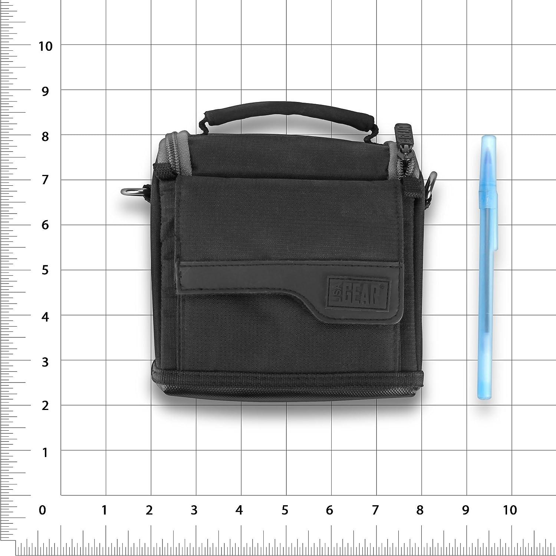 Hawkeye FT1PXC More Weatherproof Base Fits Garmin 010-01550 Striker 4 USA Gear Portable Fishfinder Carry Case Shoulder Strap Lucky FFW 718 Scratch-Resistant Interior Venterior