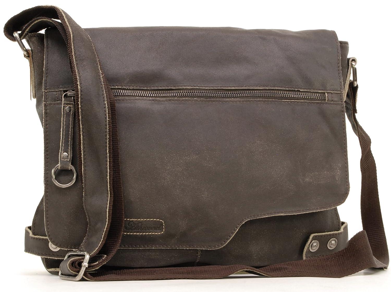 Sac Gibecière en cuir signé Ashwood - Camden Ashwood Leather 8353