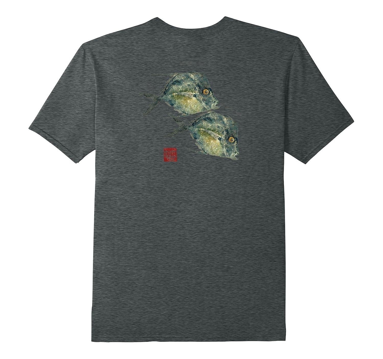 Fish Print Gyotaku Florida Lockdown T Shirt Art Artshirtee