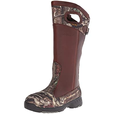 "LaCrosse Men's Adder 18"" Snake Boot, Brown/Mossy Oak Infinity, 12 M US 