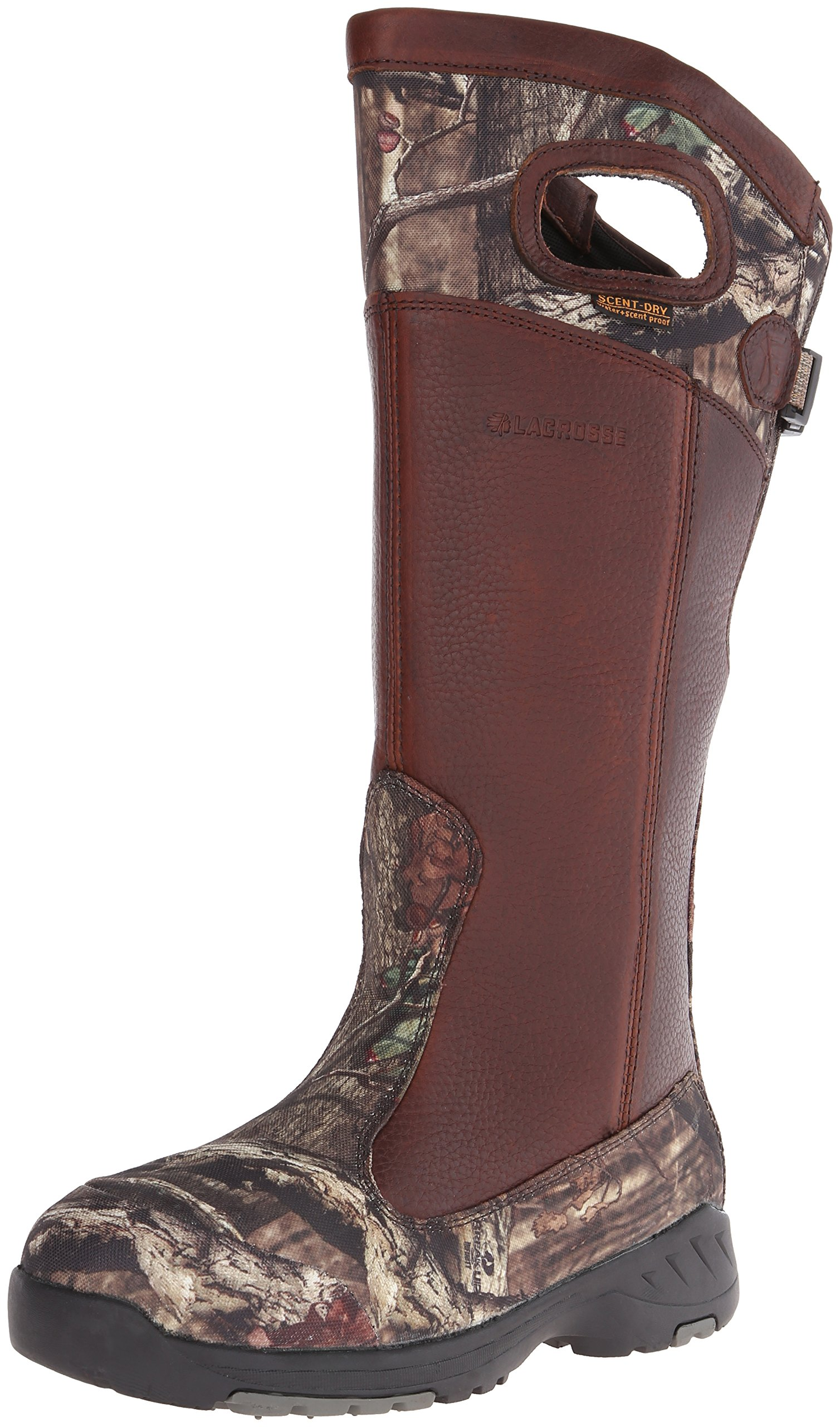 "LaCrosse Men's Adder 18"" Snake Boot,Brown/Mossy Oak Infinity,10 M US"