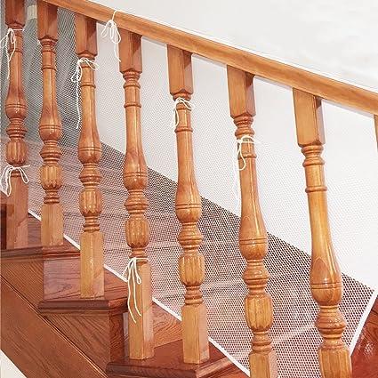 Aipark 3 Metre Filet De Protection Escalier Pour Bebe Et Enfant Filet De Securite Balcon Barriere Solide Et Robuste