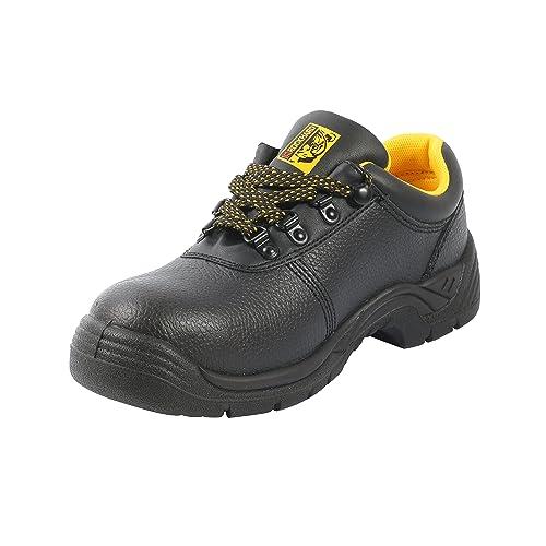 "6e6b67e3a6e ... usa cheap sale 20359 d1298 4"" Black Steel Toe Work Shoes - Low Profile  Style  cozy fresh 2e413 faef7 Mens Oil Slip Resistant ..."