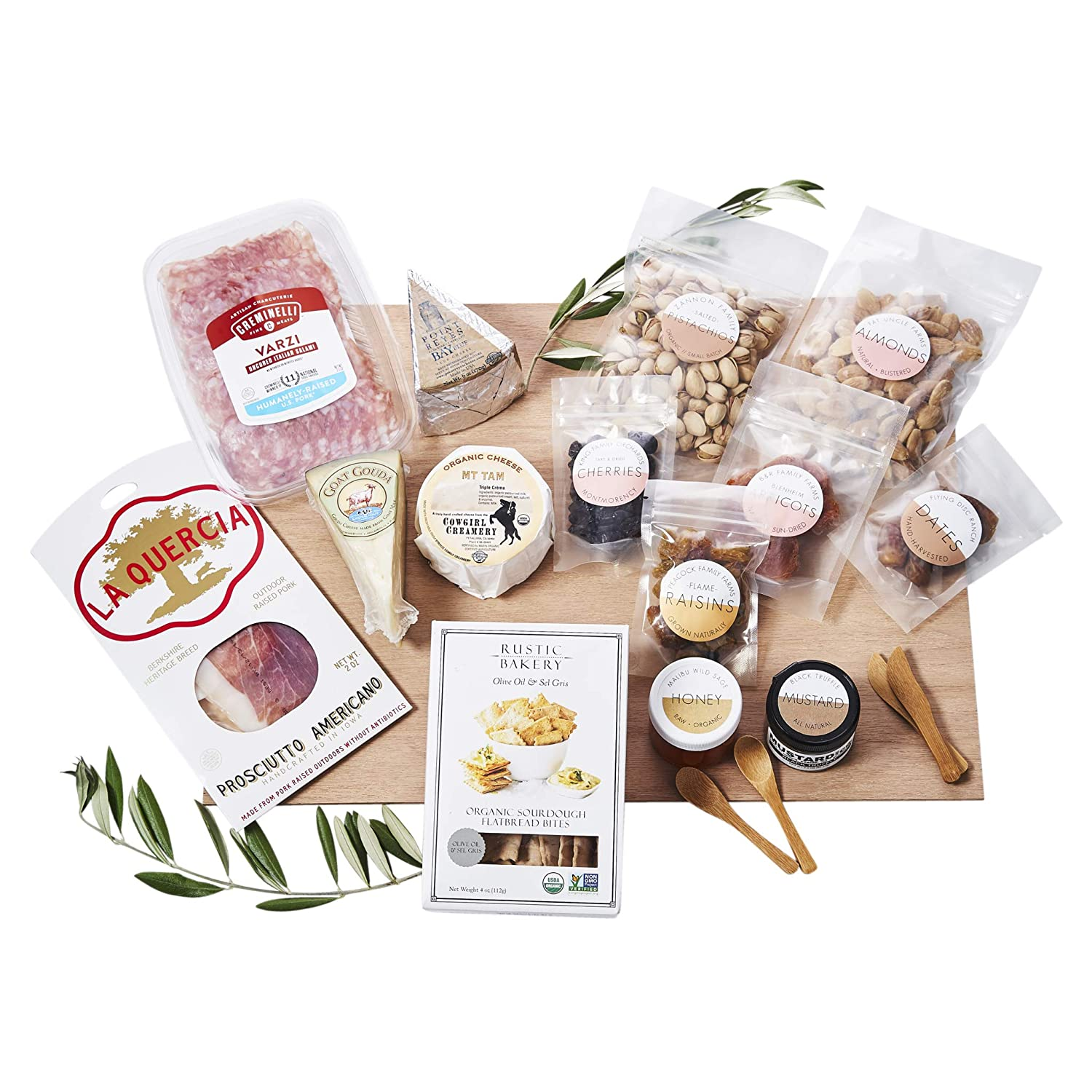 Lady & Larder DIY Cheese & Cured Meat Board