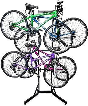 RaxGo 4 Bicycle Garage Floor Stand