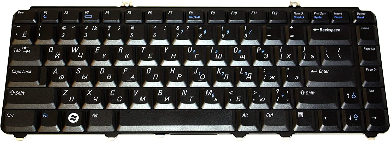 DELL - Dell Vostro 1400/1500 Laptop Russian Keyboard NW612 This is not English Keyboard - NW612