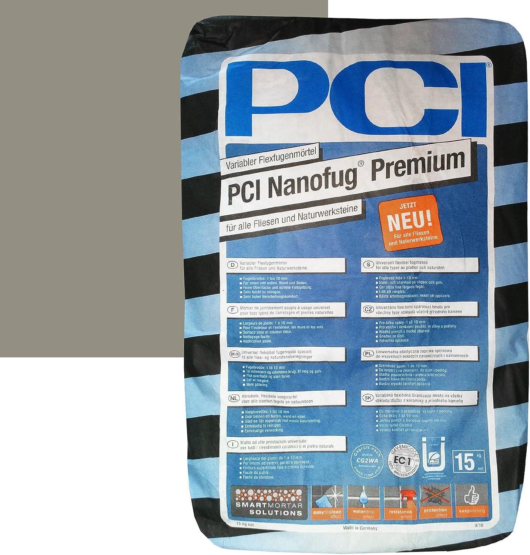 """31 Zementgrau PCI Nanofug Premium 15kg Flexfugenm/""""rtel Nr"""