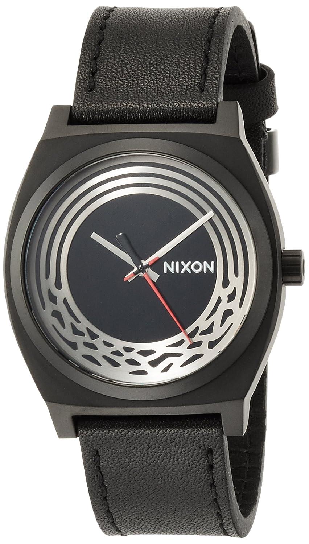 [ニクソン]NIXON 腕時計 NIXON STARWARS TIME TELLER LEATHER SW: KYLO BLACK NA1069SW2444-00 【正規輸入品】 B01IQMSOQA