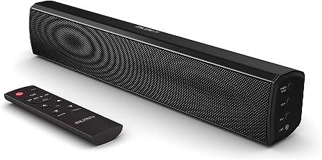 Majority Bowfell Compact 2.1 Barra de sonido con óptica, AUX + RCA USB 30W TV Bluetooth PC Negro: Amazon.es: Electrónica