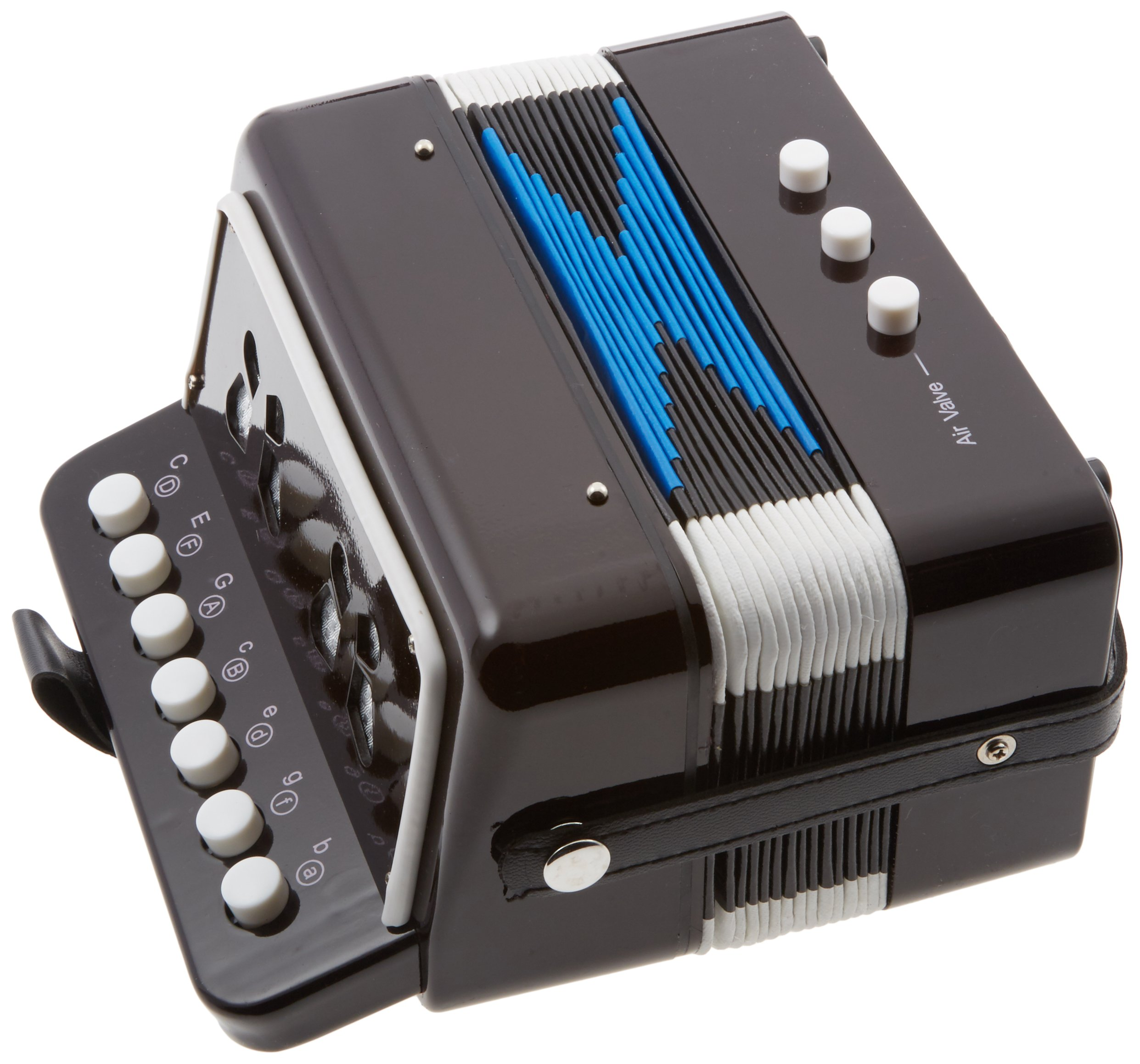 SKY Accordion Black Color 7 Button 2 Bass Kid Music Instrument Easy to PlayGREAT GIFT by Sky (Image #3)
