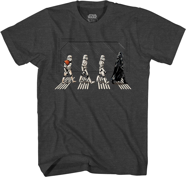 Star Wars Death Star Road Stormtrooper Crossing Mens T-Shirt