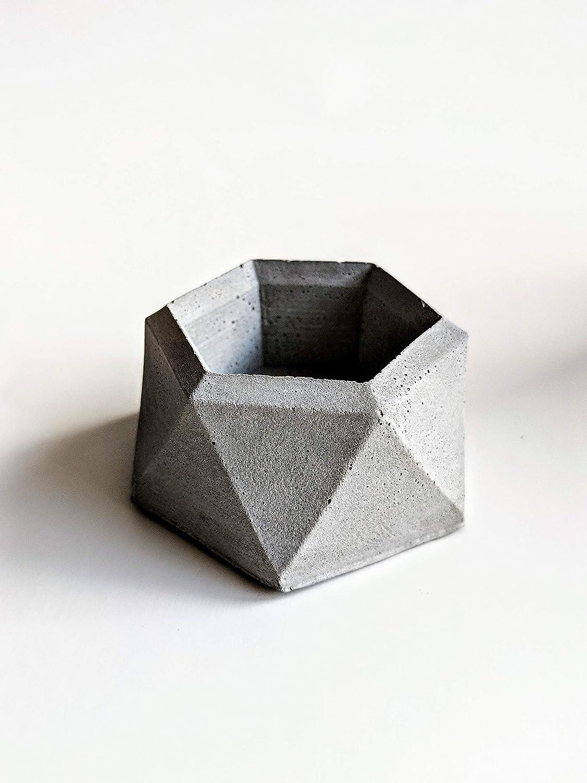Concrete Geometric Air Plant Holder