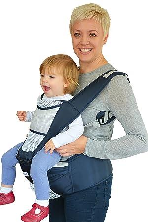 Nimnik Baby Carrier Sling Ergonomic Hipseat Multi Position Baby