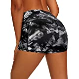 """LXNMGO Women's 3""""/7"""" High Waist Yoga Shorts Tummy Control Workout Running Biker Volleyball Shorts for Women with Side Pockets"""