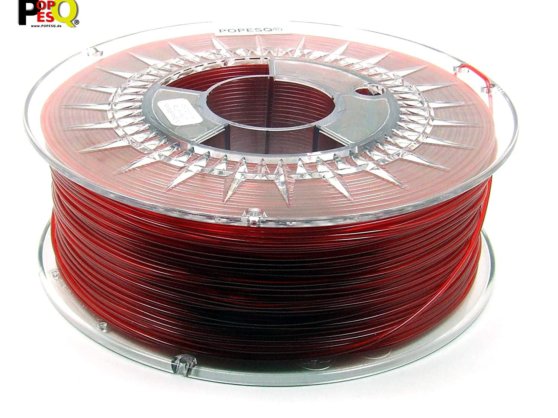 POPESQ® 1 Kg x Premium Filamento 3D Impresora Pet-G 1.75mm Rojo ...