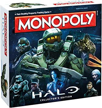 Halo Monopoly Board Game: Amazon.es: Libros en idiomas extranjeros