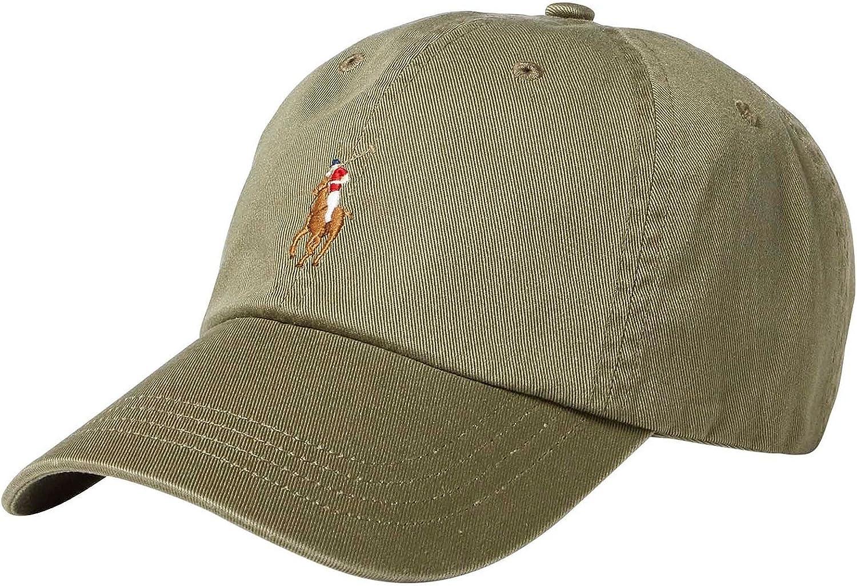 Ralph Lauren - Gorra de béisbol - Verde Caqui: Amazon.es: Ropa y ...