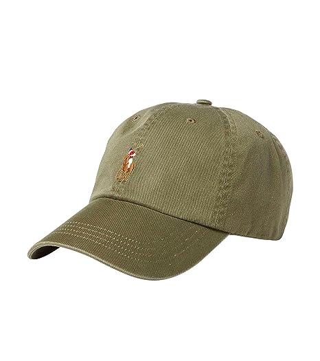 Ralph Lauren - Gorra de béisbol - Verde Caqui: Amazon.es: Ropa y accesorios