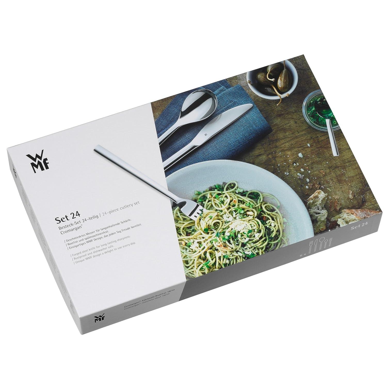 wmf 24 pce signum cromargan 18 10 stainless steel cutlery set