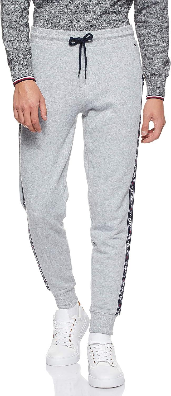 Tommy Hilfiger Repeat Logo Tape Joggers Pantalones Deportivos para Hombre