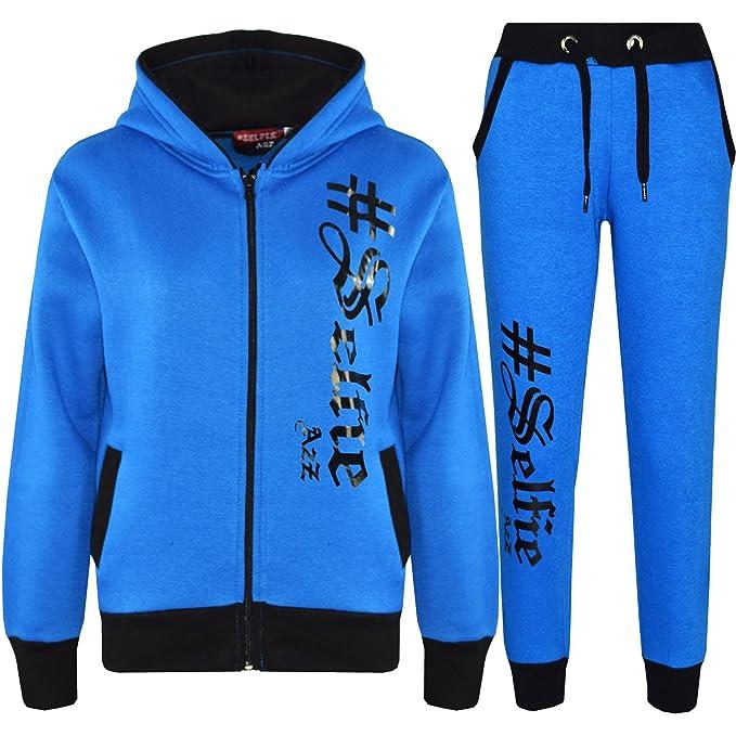 big selection of 2019 shop for superior quality Kids Jogging Suit Boys Girls Designer #Selfie Hoodie ...