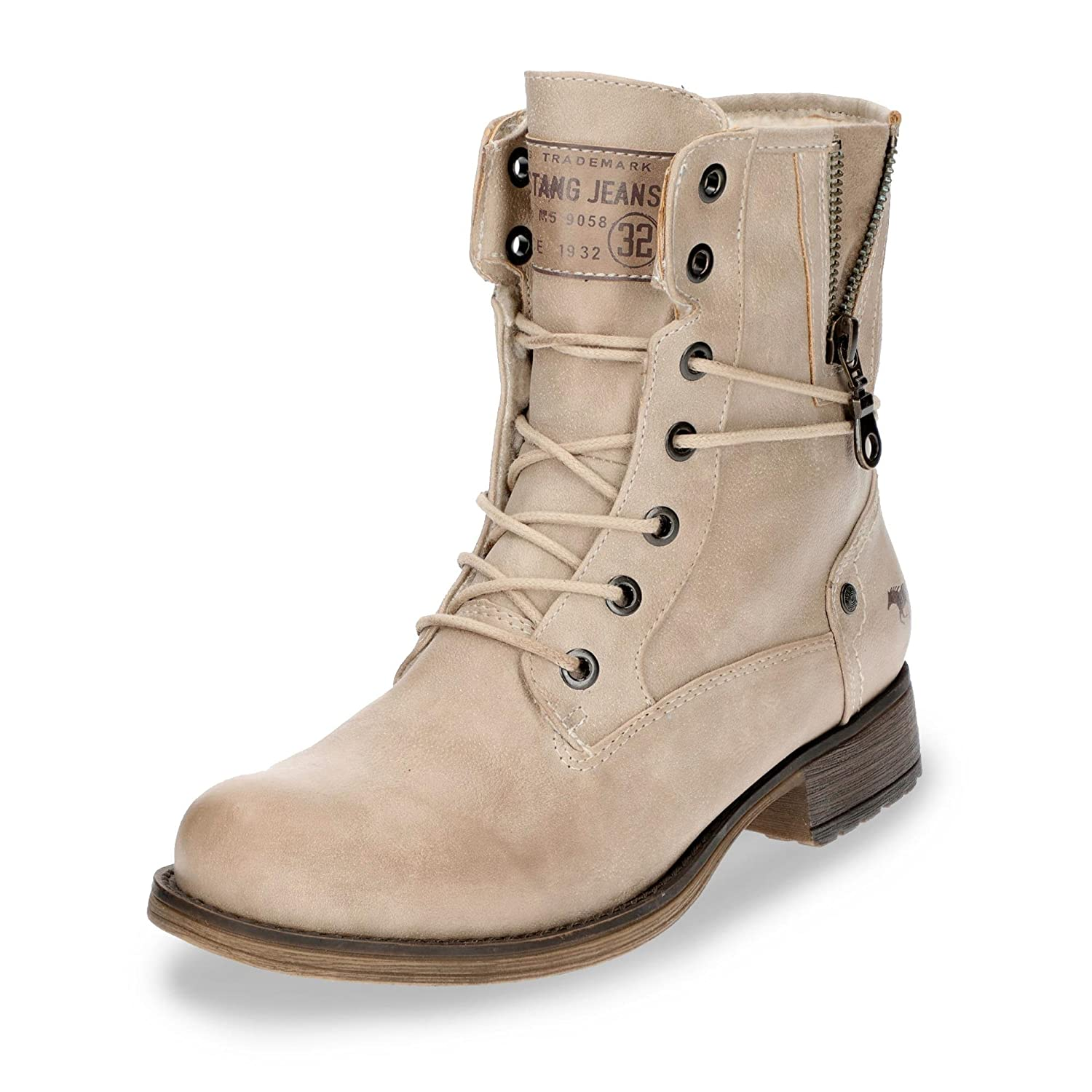 Mustang, Bottes Beige pour Femme 243) Beige (Ivory Mustang, 243) 9f5d66d - latesttechnology.space