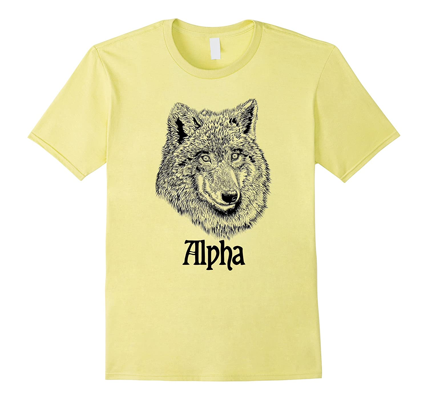 Alpha Wolf Leader of the Pack T-Shirt-TH