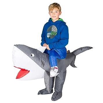 Bodysocks® Disfraz Hinchable de Tiburón Niño: Amazon.es: Juguetes ...