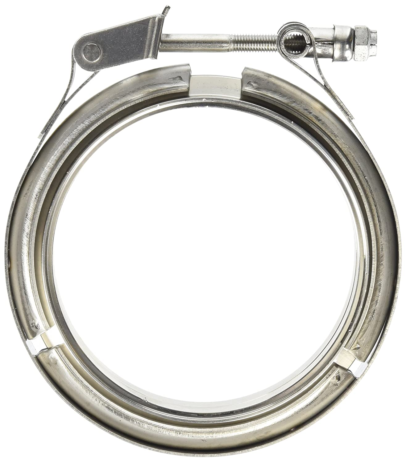 Vibrant 1493 4' Stainless Steel V-Band Flange Assembly KEYU1 VIB1493