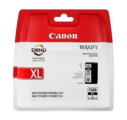 Canon PGI-1500XL Cartucho de tinta original Negro XL para ...