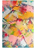 999Store Wooden Framed Printed Abstract Canvas Painting (36X24 Inches)