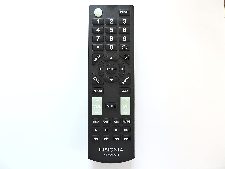 Insignia Tv Remote Control Insignia Ns-rc4na-16 Nsrc4na16 LED Tv Remote Control for Ns-55d420na16 Ns-60e440na16 Ns-60e440mx16 Ns-28dd220na16 Ns-24d420na16
