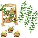 Sylvanian Families - 5224 - Set De Décoration Florale Et Jardinières