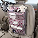 High Road TissuePockets Car Seat Back Organizer and Tissue Holder (Sahara)