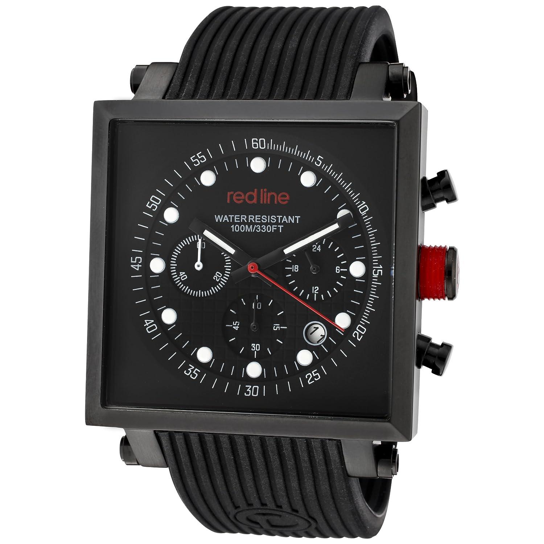 Red Line – rl-50036-bb-01 – Zeigt Herren – Quartz Chronograph Armband Gummi schwarz