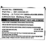 Cameron Sino Standard 3.7V//1880mA 010-11143-00,361-00038-01 Replacement Battery for Garmin Aera 500,Aera 510,Aera 550,Aera 560,Nuvi 500,Nuvi 510,Nuvi 550