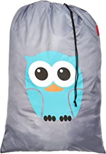 Kikkerland Owl Laundry Bag