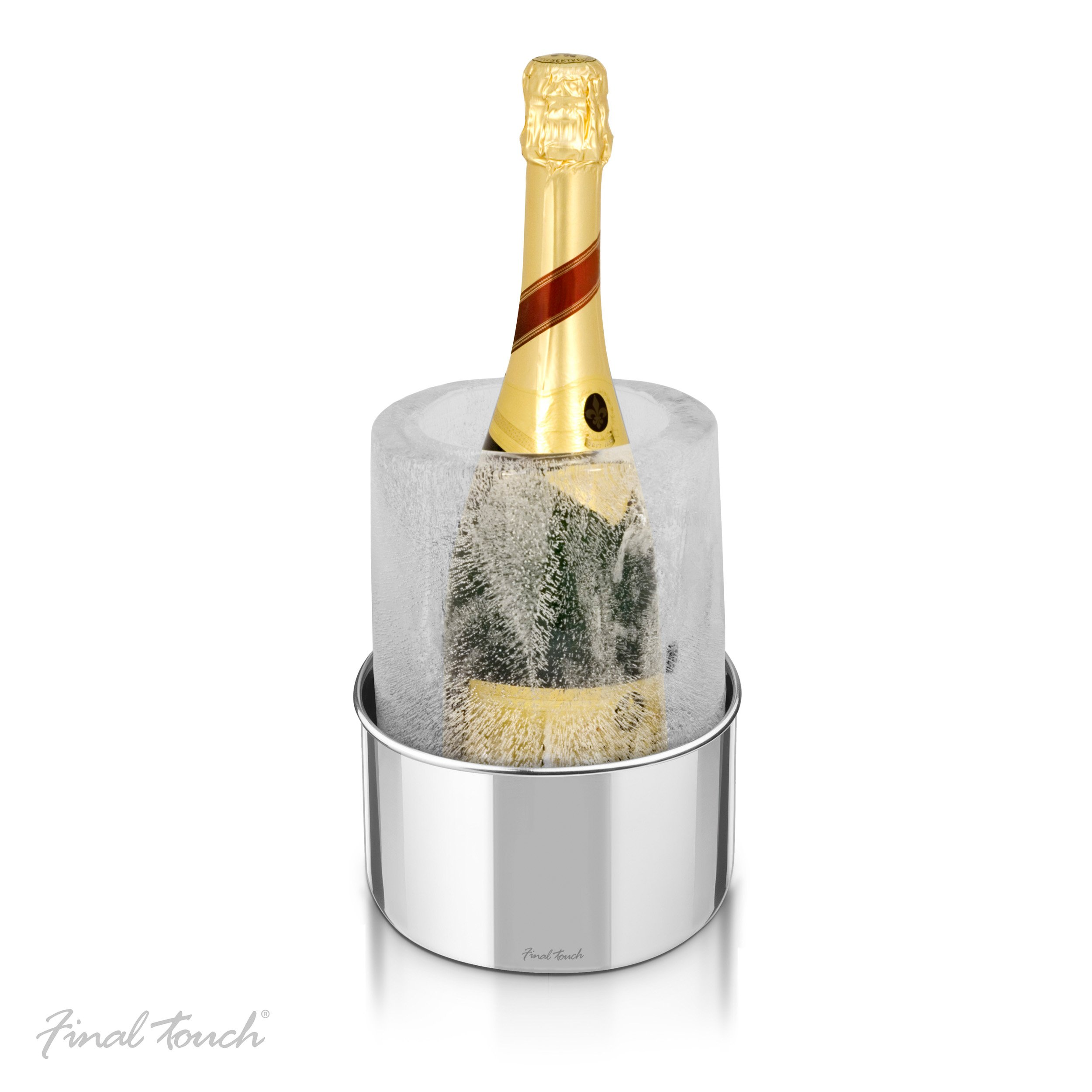 Final Touch Stainless Steel Ice Bottle Chiller